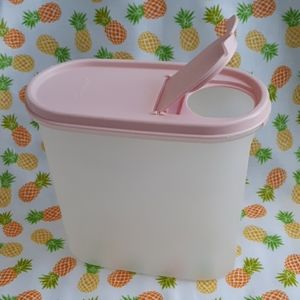 Tupperware Flip Top Lid Container